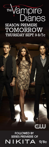 The Vampire Diaries Season Premiere TOMORROW!!