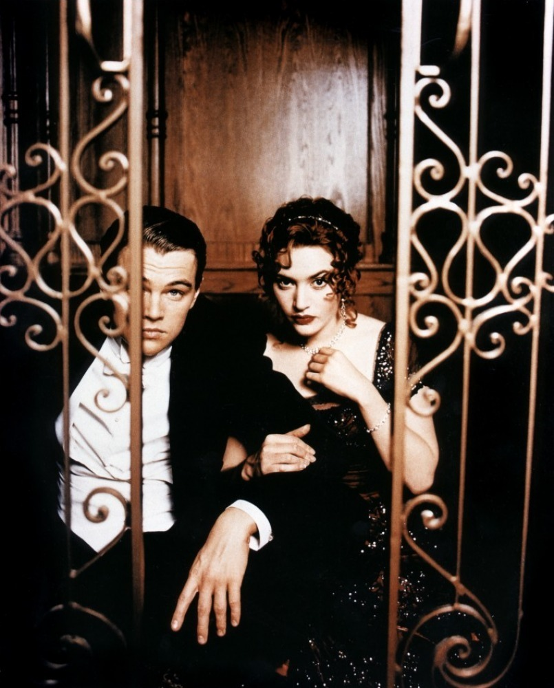 Titanic - Kate Winslet & Leonardo diCaprio - Titanic Photo ... Leonardo Dicaprio And Kate Winslet