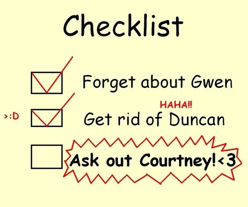 Trent's Checklist! BWAHAHA!