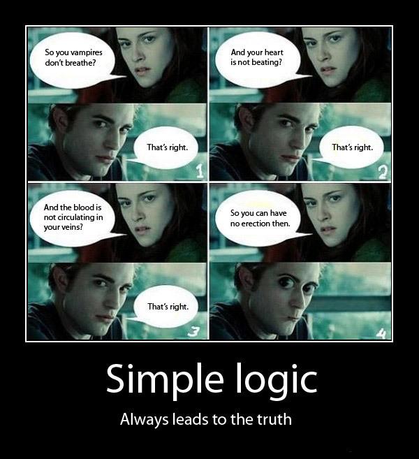 Harry Potter Vs. Twilight Twilight Logic