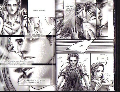 Siri-siri Twilight kertas dinding containing Anime called Twilight graphic novel scans