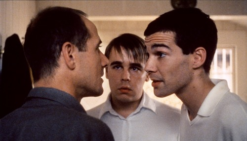 Ulrich Mühe, Frank Giering & Arno Frisch in Funny Games (1997)