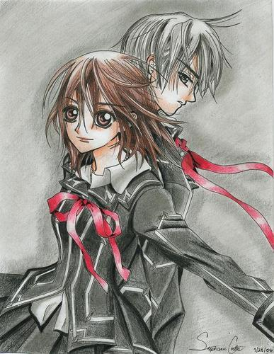 funkyrach01 wallpaper containing anime entitled Vampire Knight
