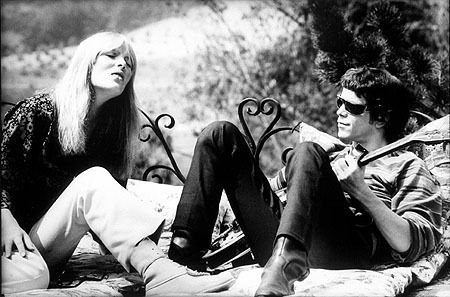 Lou Reed wallpaper with a park bench titled Velvet Underground