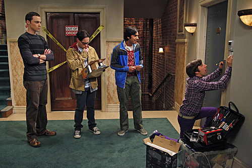 Wolowitz Installing Security