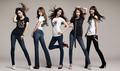 Yuri, Jessica, Seohyun, Yoona and Sooyounf for Spao jeans