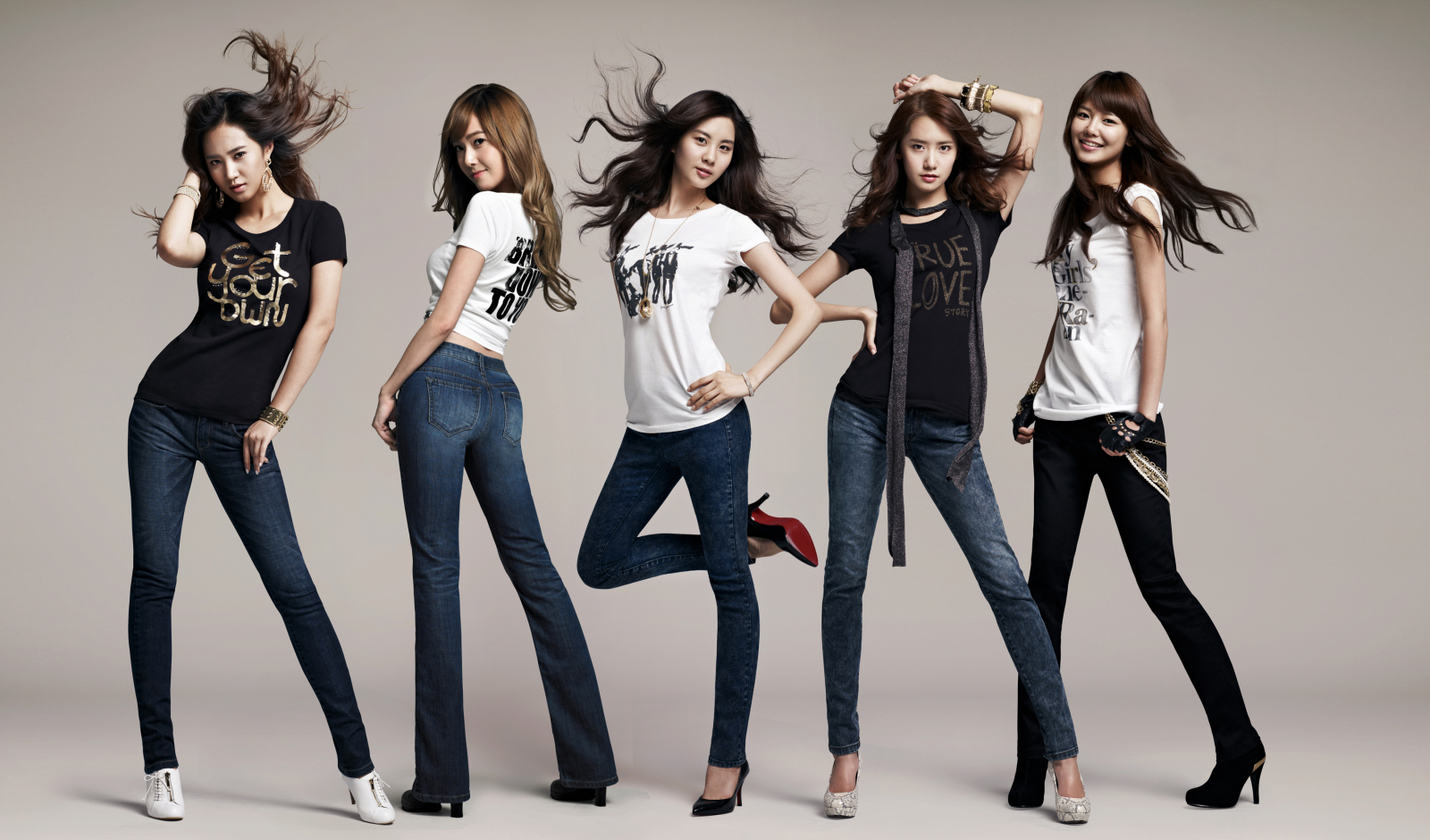 Girls generation snsd yuri jessica seohyun yoona and sooyounf for