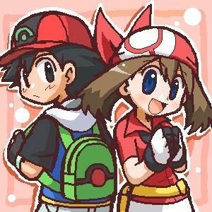 adash and may - Pokemon Shipping Fan Art (15362411) - Fanpop