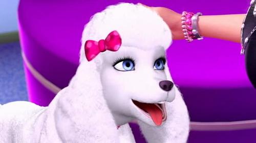 Barbie in a fashion fairytale
