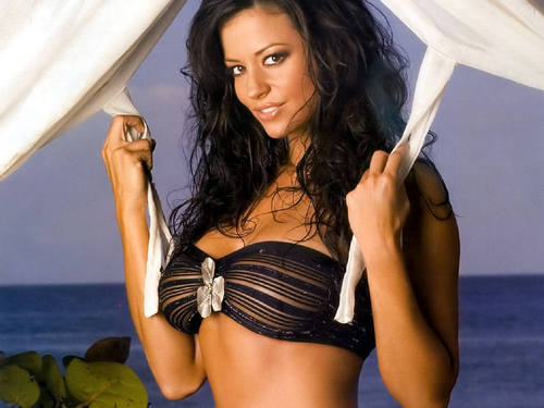 Candice Michelle Обои titled candice michelle