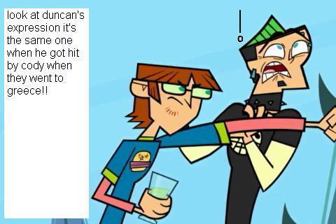 duncan is punced oleh a nerd twice!