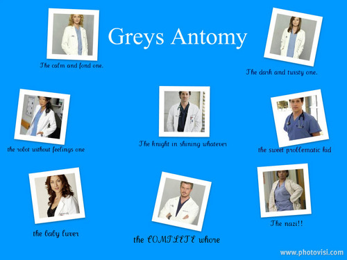 greys anatomy collage