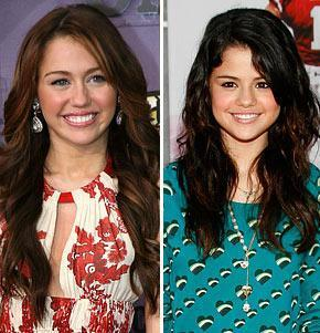 i love miley and selena