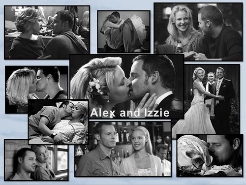 izzie and alex <3