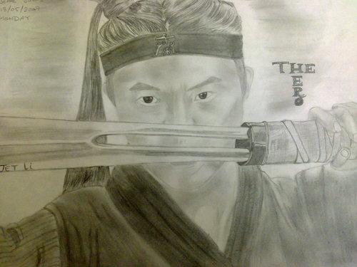 my JET LI sketch