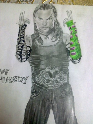 my jeff hardy sketch