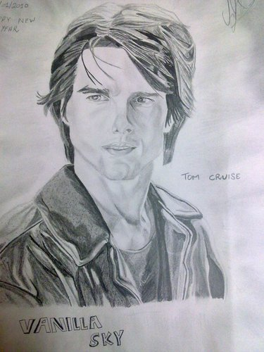 my tom cruise sketch
