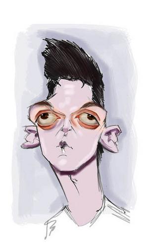 Mesut Özil hình nền entitled ozil caricature