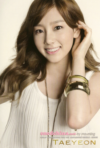 Girls Generation/SNSD wallpaper with a portrait called taeyeon Genie japanesse