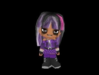 this is my powerpunk girl bleed または goth または エモ