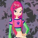 ������ WINX - super star girl � ���������� ����!