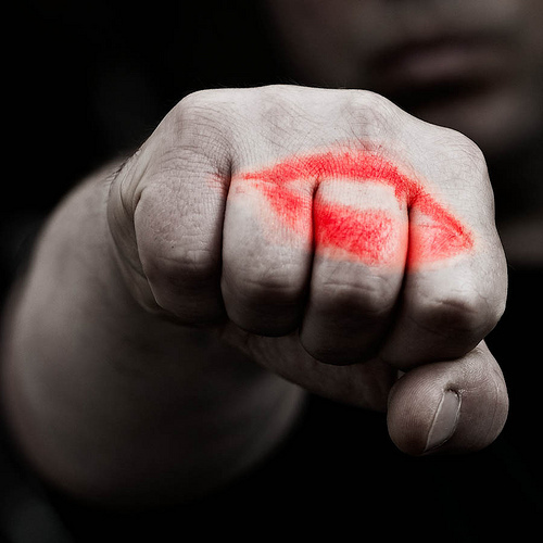 """""""A किस with a fist is better than none."""""""