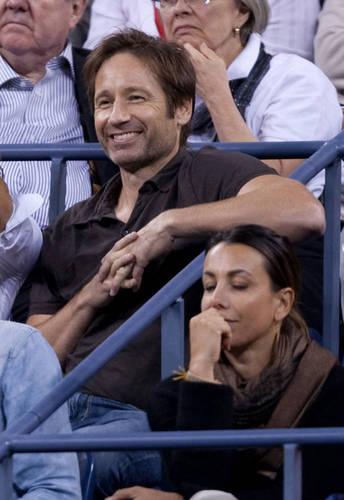 08/09/2010 - David and 차 at US Open