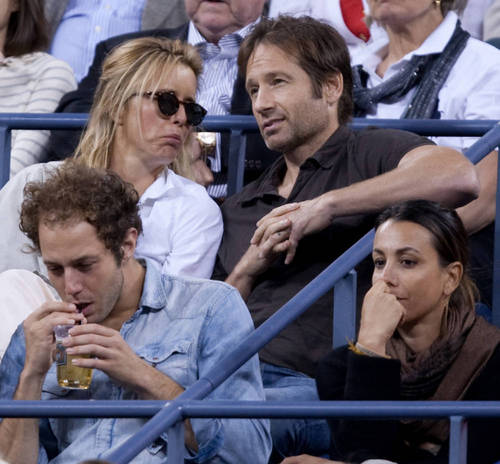 08/09/2010 - David and thee at US Open