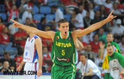 Basketball wallpaper titled 5. Mantas KALNIETIS (Lithuania)