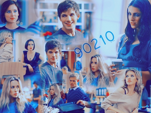 90210 wallpaper possibly with a portrait titled 90210