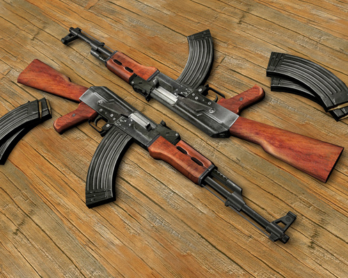 guns images AK47 HD wallpaper and background photos