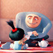 Agnes & Gru - despicable-me icon