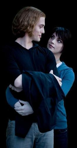 Twilight characters wallpaper entitled Alice and Jasper