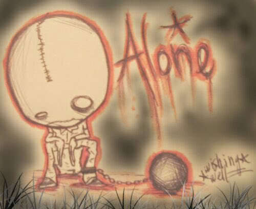 Alone Anime Emo - LiLz.eu - Tattoo DE
