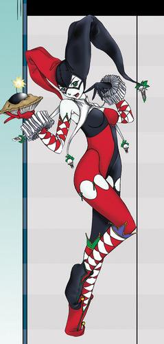 জীবন্ত Harley Quinn