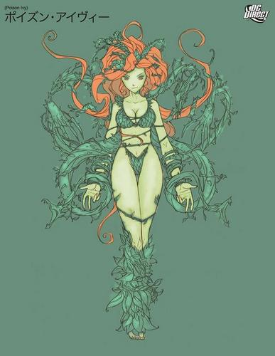 Anime Poison Ivy