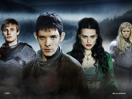 Arthur, Merlin, Morgana & Morgause