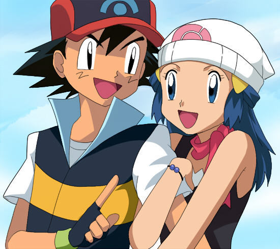 Pokemon Dawn: Ash And Dawn Photo (15476774)