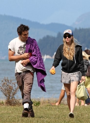 At Jericho Beach with Shiloh Fernandez