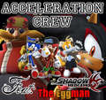 Badd Ass Gangsta Shadow ND Hiz Gangsta Sega Gang Wit Sonic,Knuckles,Tails and Dr. Eggman >:D - shadow-the-hedgehog photo
