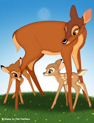 Bambi meet Faline