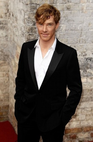 Benedict at the National Lottery Awards