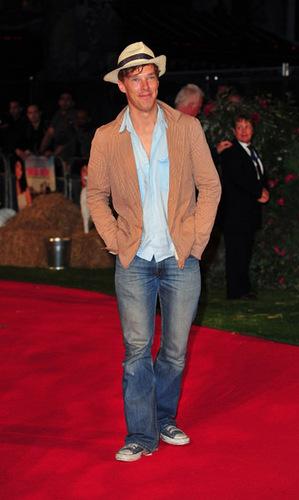 Benedict at the Tamara Drew Premiere
