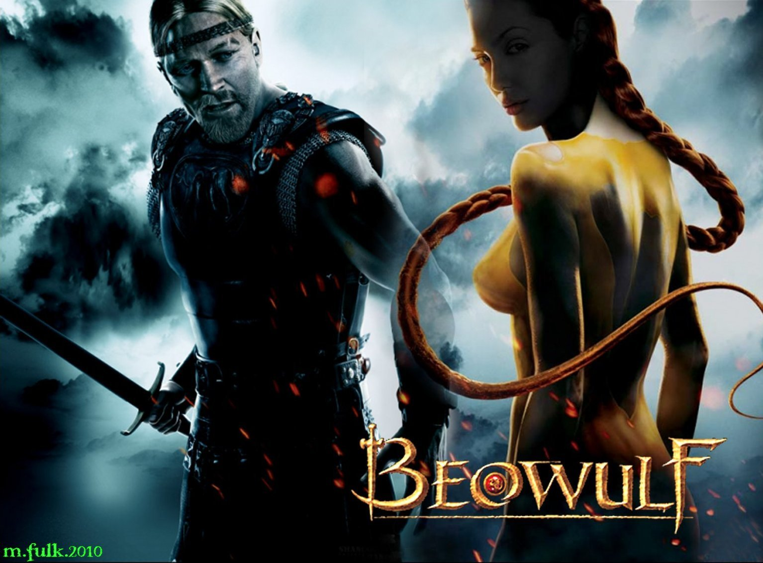 the heroic acts of beowulf that classifies him as noble person
