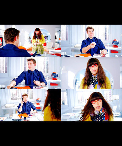 Ugly Betty wallpaper probably containing a sign titled Betty & Daniel