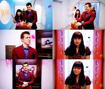 Ugly Betty wallpaper entitled Betty & Daniel