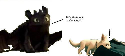 Bolt thats not...