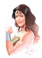 Bridget as Wonder Woman