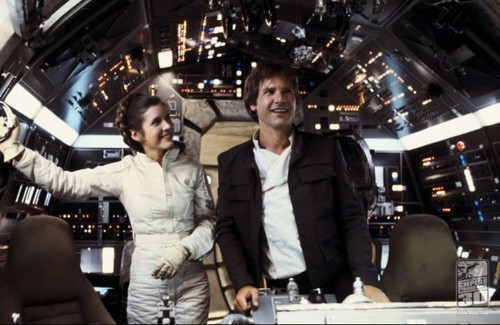 Carrie and Harrison in the helang, falcon