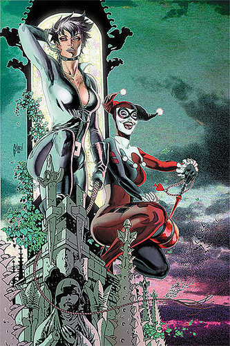 Catwoman & Harley Quinn